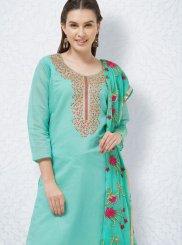 Churidar Designer Suit For Casual