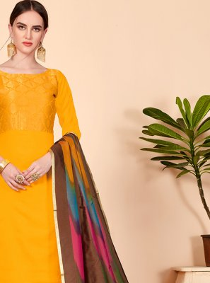 Churidar Designer Suit For Casual