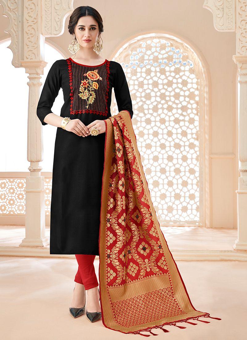 Churidar Salwar Suit For Festival