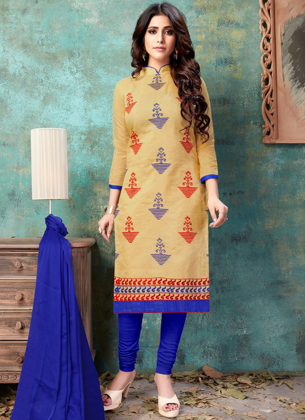 Churidar Suit For Party