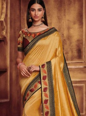 Classic Designer Saree For Wedding