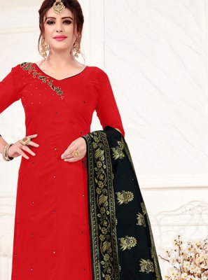 Cotton Casual Trendy Churidar Salwar Kameez