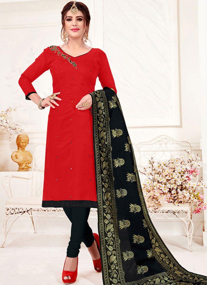 Cotton Casual Trendy Churidar Salwar Kameez