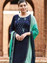 Cotton Ceremonial Designer Palazzo Salwar Kameez