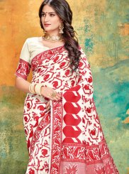 Cotton Classic Saree in Red
