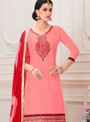 Cotton Embroidered Designer Patiala Salwar Kameez