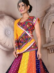 Cotton Fancy Lehenga Choli in Multi Colour
