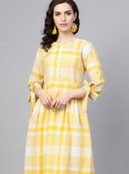 Cotton Fancy Party Wear Kurti