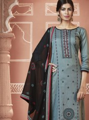 Cotton Festival Churidar Designer Suit