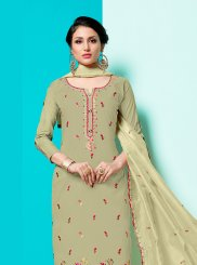 Cotton Festival Designer Straight Suit