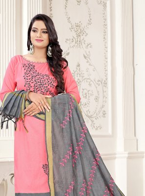 Cotton Festival Trendy Churidar Suit