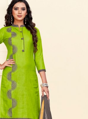Cotton Green Churidar Suit