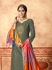 Cotton Green Designer Straight Suit