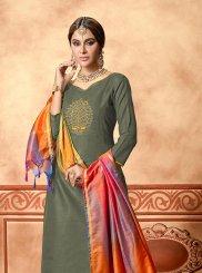 Cotton Green Designer Straight Suit