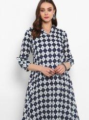 Cotton Mehndi Designer Kurti