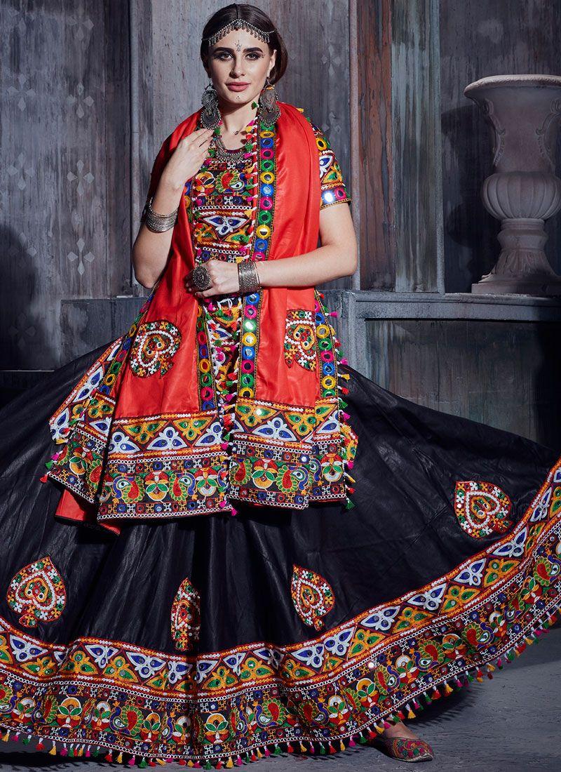 Cotton Mirror Trendy Lehenga Choli