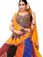 Cotton Multi Colour Lehenga Choli