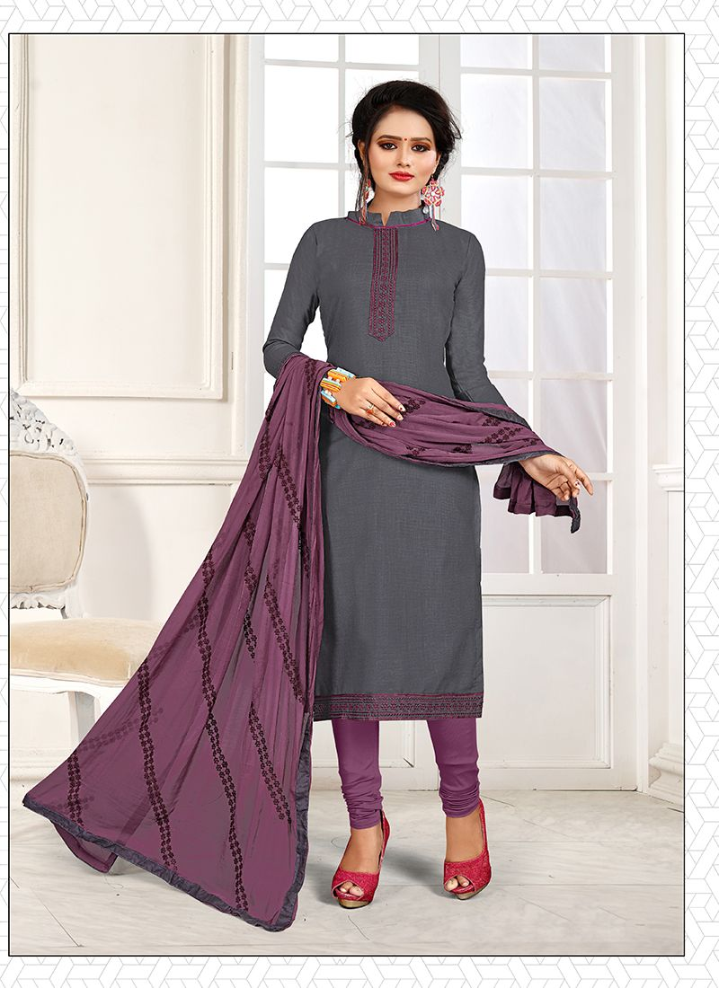 Cotton Party Churidar Suit