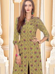 Cotton Party Trendy Palazzo Salwar Suit