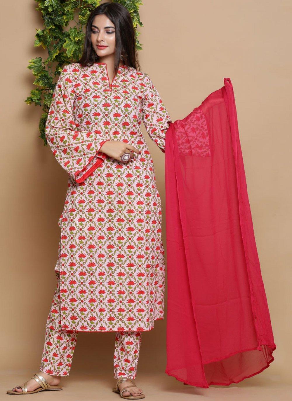 Cotton Print Readymade Suit