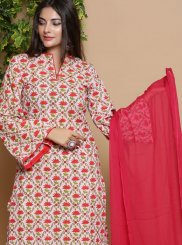 Cotton Print Readymade Suit