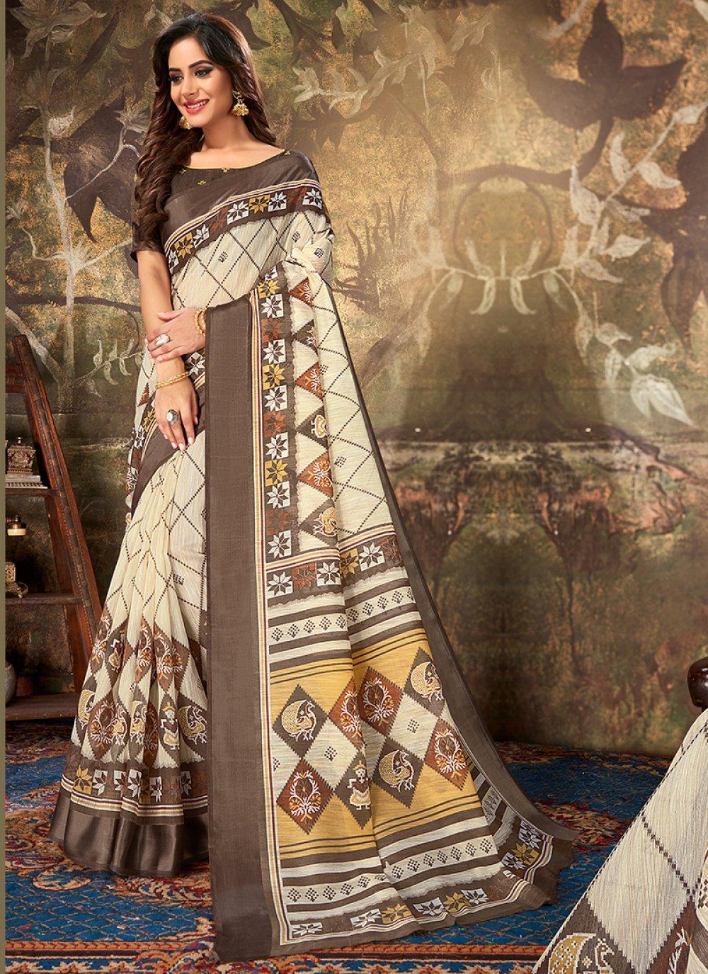 Cotton Reception Classic Designer Saree