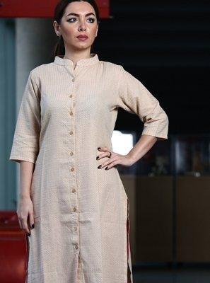 Cotton Reception Party Wear Kurti