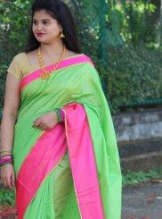 Cotton Silk Casual Classic Saree