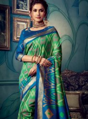 Cotton Silk Multi Colour Weaving Designer Traditional Saree