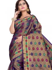 Cotton Silk Woven Traditional Designer Saree