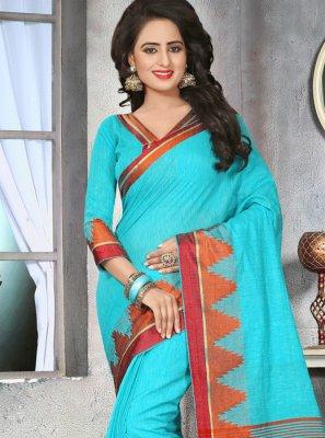 Cotton   Thread Work Classic Designer Saree
