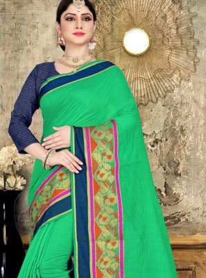Cotton Woven Classic Saree