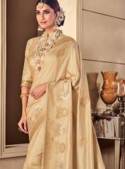 Cream Party Classic Saree
