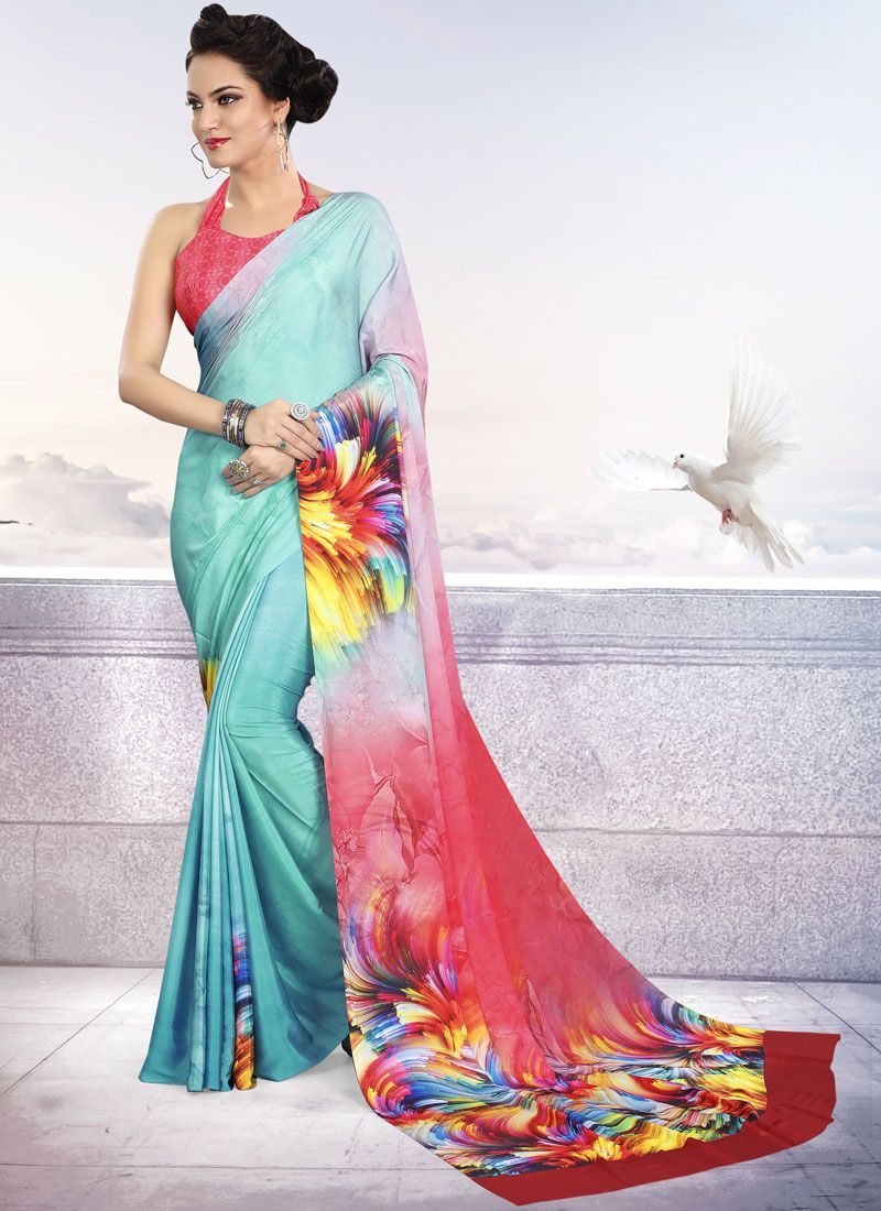 Crepe Silk Casual Trendy Saree