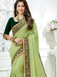 Crepe Silk Designer Traditional Saree