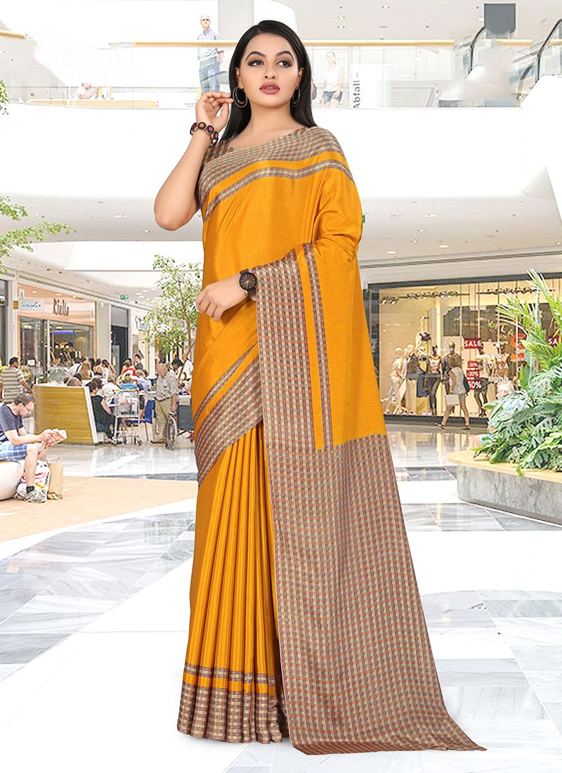 Crepe Silk Trendy Saree