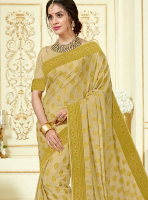 Crepe Silk Woven Designer Traditional Saree