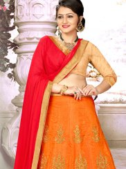Designer A Line Lehenga Choli For Wedding