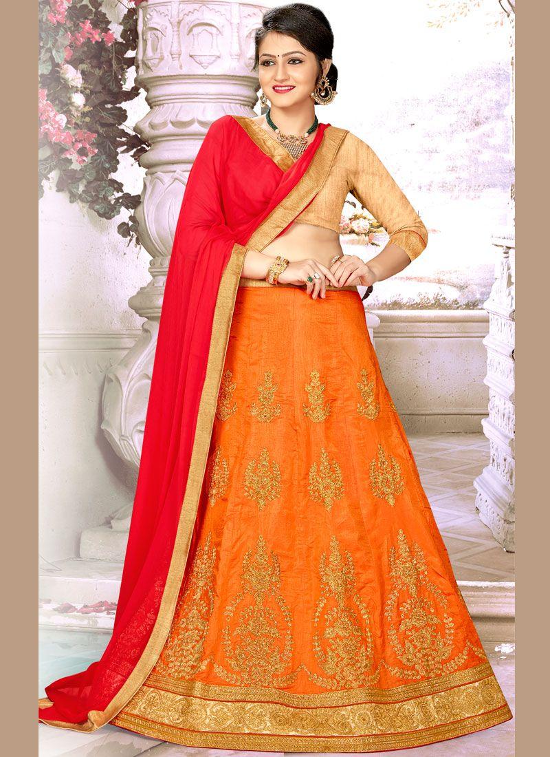 Designer A Line Lehenga Choli For Wedding