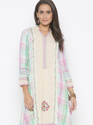 Designer Kurti For Reception