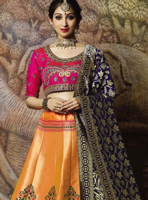 Designer Lehenga Choli For Mehndi