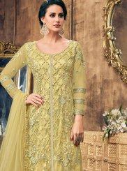 Designer Pakistani Salwar Suit For Sangeet