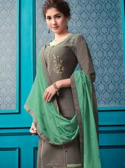 Designer Palazzo Salwar Suit For Ceremonial