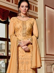 Designer Palazzo Suit For Sangeet