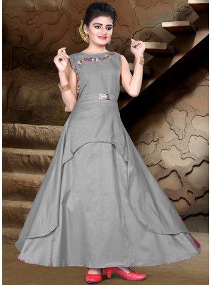 Designer Partywear Gown For Kids