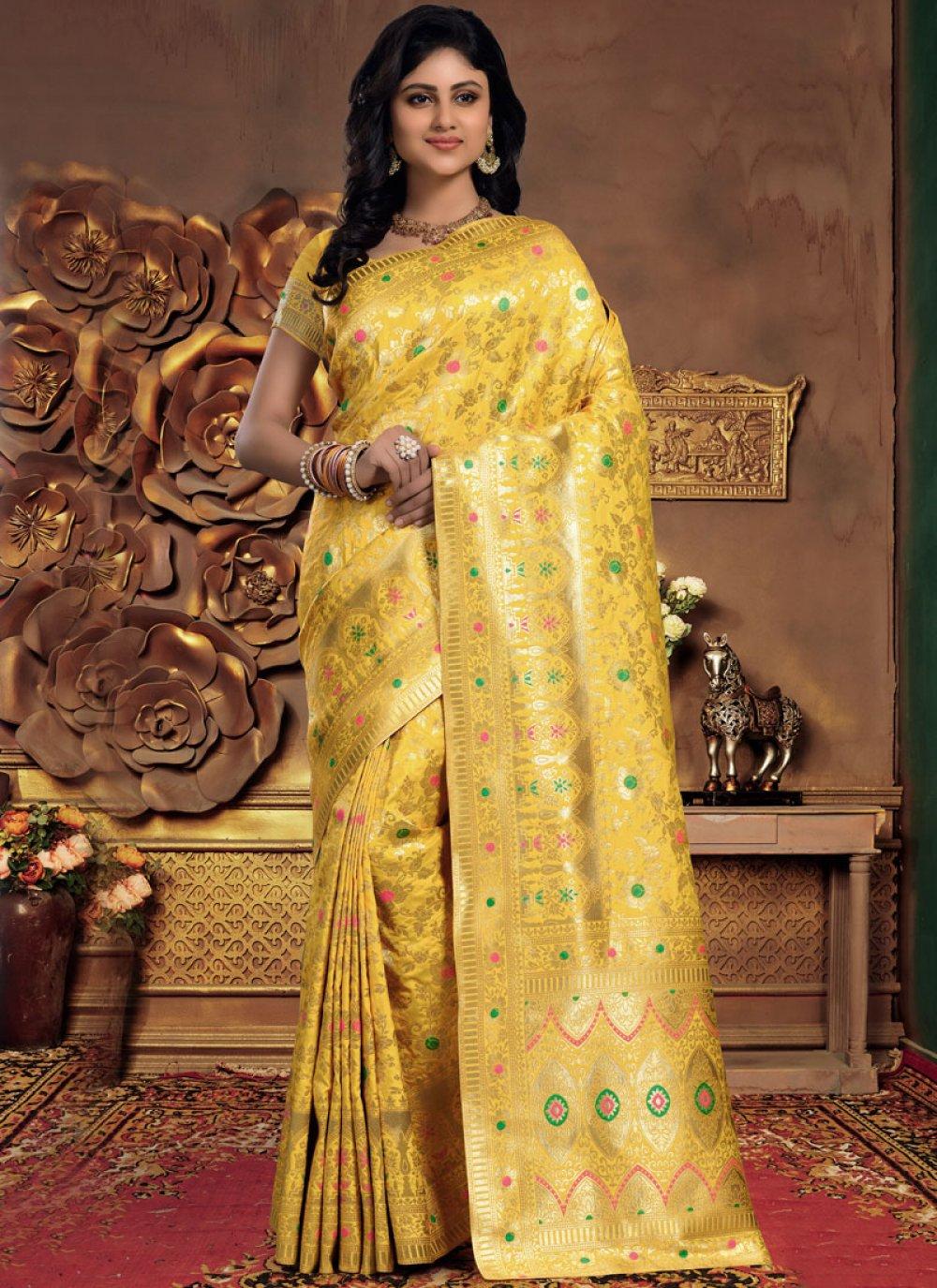 Designer Saree For Sangeet