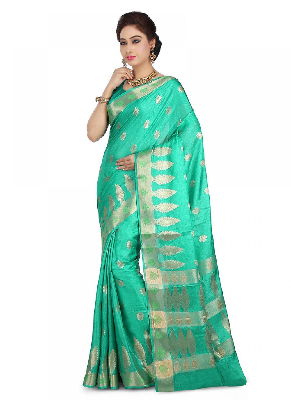Designer Traditional Saree For Ceremonial