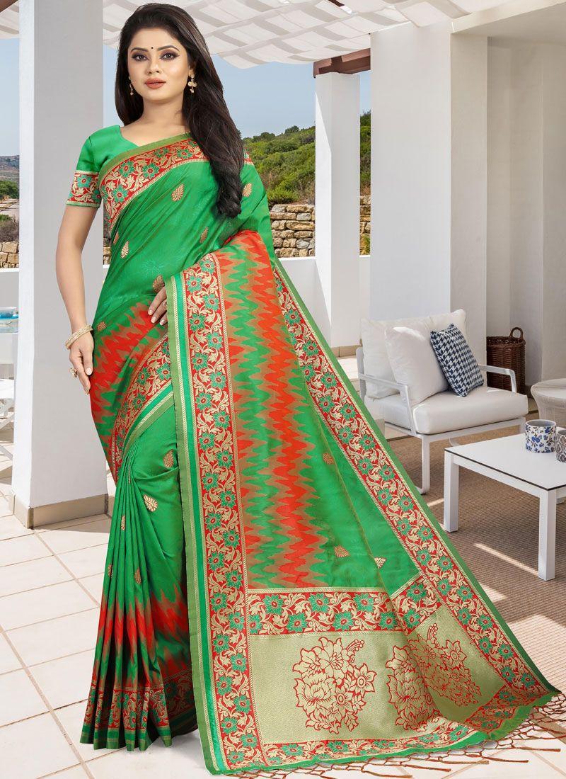 Designer Traditional Saree For Wedding