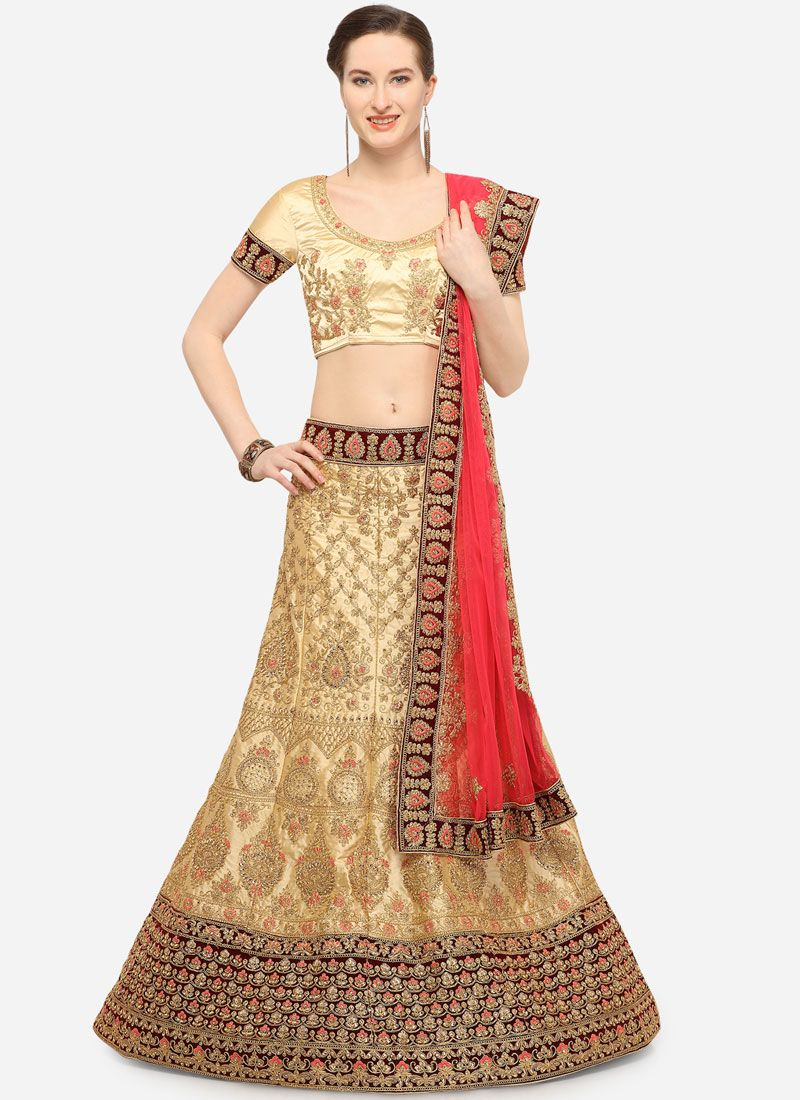 Diamond Art Silk Designer Lehenga Choli