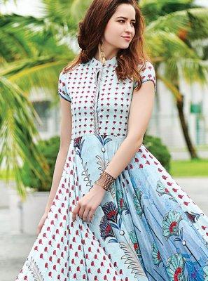 Digital Print Designer Gown